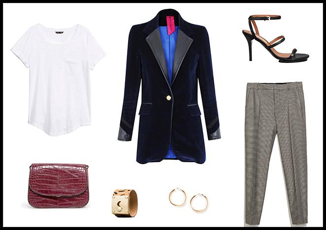 La Condesa, Camiseta: H&M, Pantalones: Zara, Pendientes y Bolso: Mango, Brazalete: Uterqüe, Sandalias: & Other Stories.