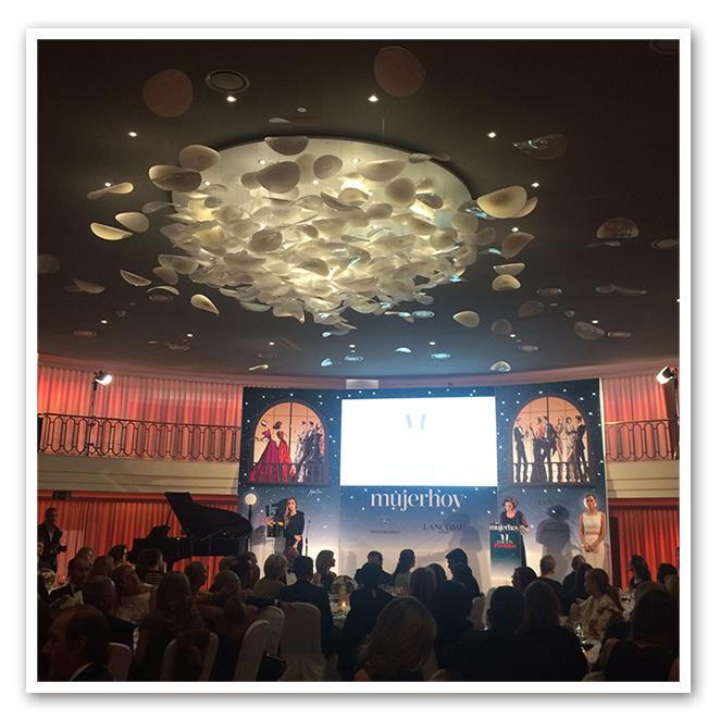 Cuarta edición de los premios Mujer Hoy en el Hotel Palace de Madrid.