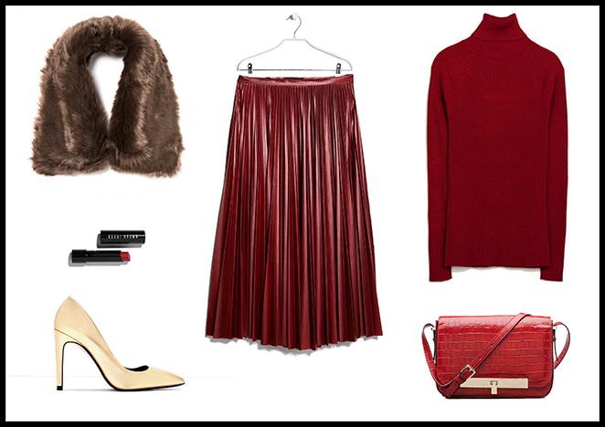 H&M, Blazer y Collar: Zara, Anillo: Pedro del Hierro, Sandalias: Hoss Intropia.
