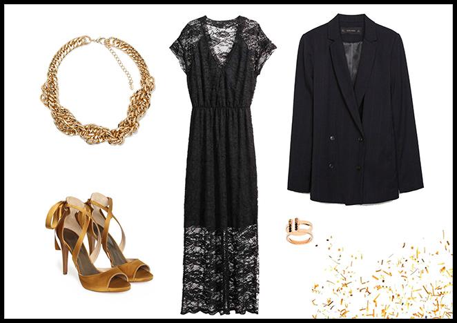 Zara, Falda: Mango, Cuello de Pelo: Bennetton, Lipstick: Bobbi Brown, Bolso: Massimo Dutti, Zapatos: Zara.
