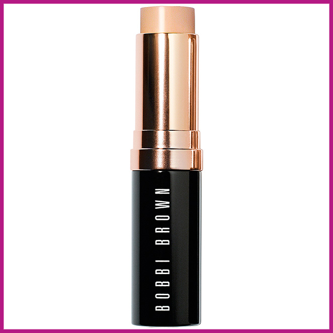 Lo último en base de maquillaje, el Skin Foundation Stick de Bobbi Brown.