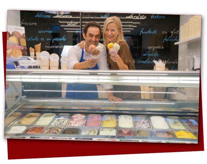 Para el postre nada como los helados gastronómicos de Fernando de la Heladería della Sera