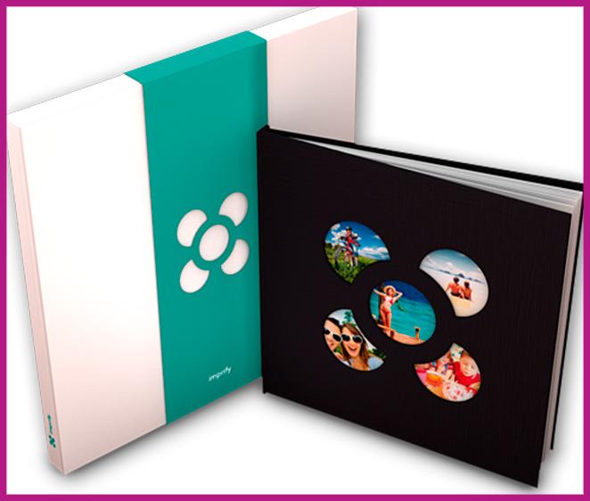 Un album para tener un recuerdo único y ver en familia o entre amigos de Imprify Photobooks