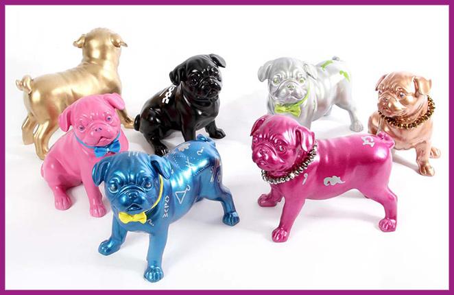 Los divertidos perros personalizados Poppin de Felipao.