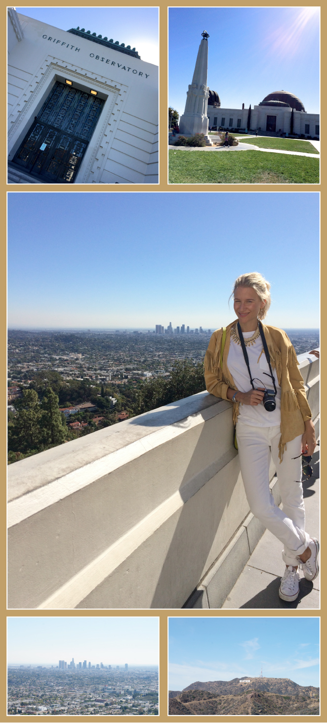 Griffith Observatory. Desde aquí se puede disfrutar de las mejores vistas de Los Ángeles.