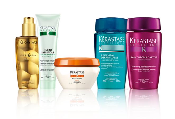 Un quinteto triunfador para una melena con estilo, que podréis encontrar en peluquerías y centros de belleza autorizados de Kérastase.