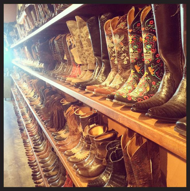 """Si buscáis botas de """"cowboy"""", el sitio ideal es Boot Star en West Hollywood."""