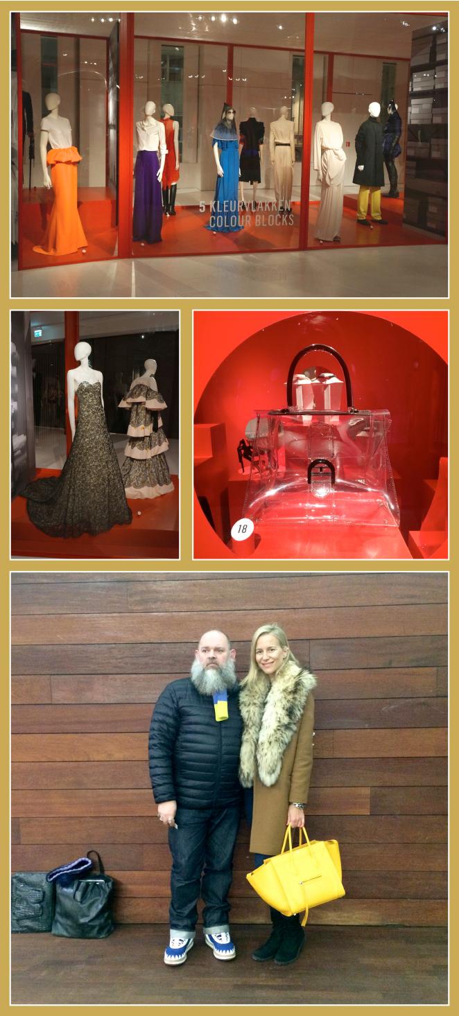 MOMU (Museo de la Moda Contemporánea). Pude ver una exposición muy buena donde me empapé de las nuevas tendencias y allí tuve la suerte de encontrarme con Walter Van Beirendonk, otro diseñador de los 6 de Amberes
