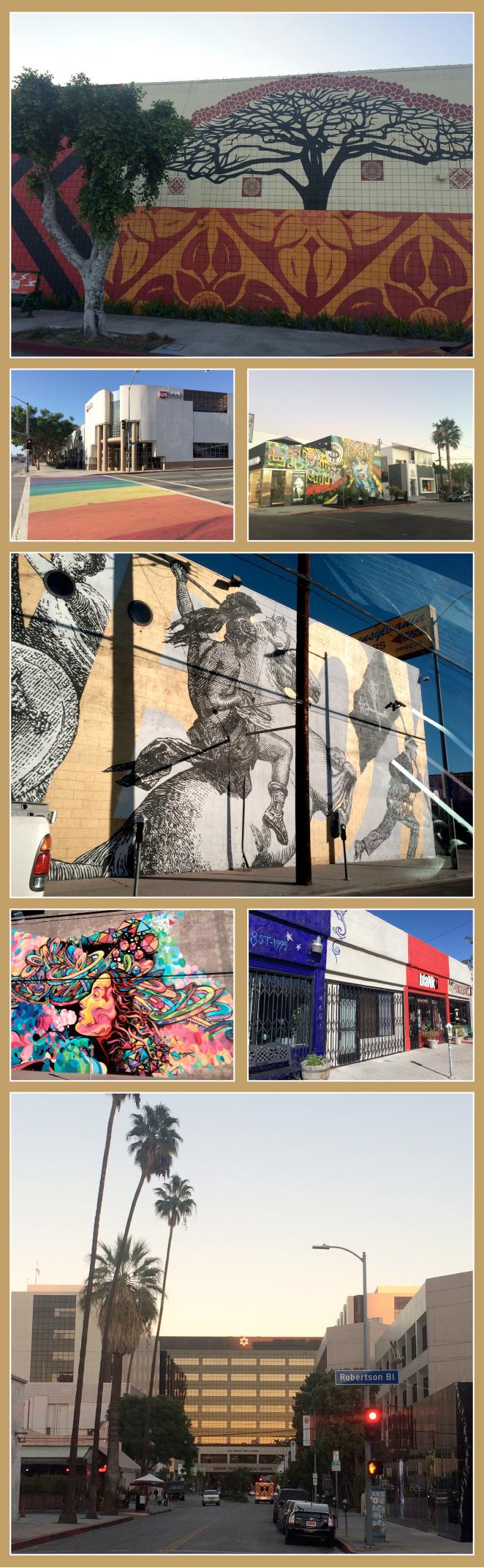 Y aquí os dejo algunas imágenes más que me llamaron la atención durante mis paseos por las enormes avenidas de Los Ángeles!!