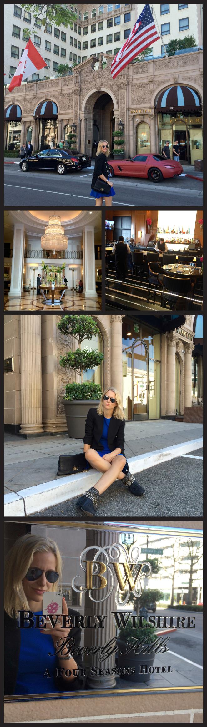 El Beverly Wilshire Hotel by Four Seasons, famoso porque fue el escenario principal de la película Pretty Woman