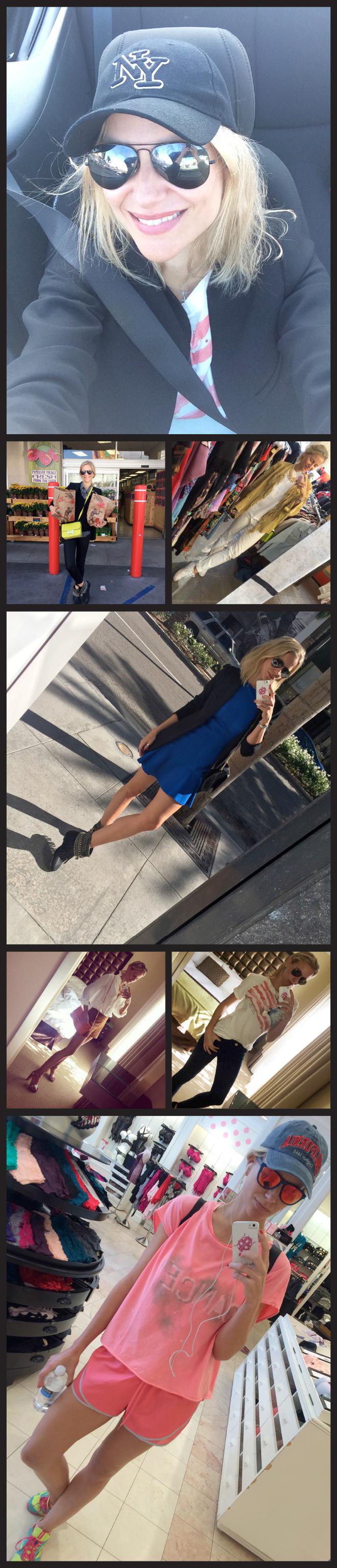 Outfits de María León en su viaje a Los Ángeles