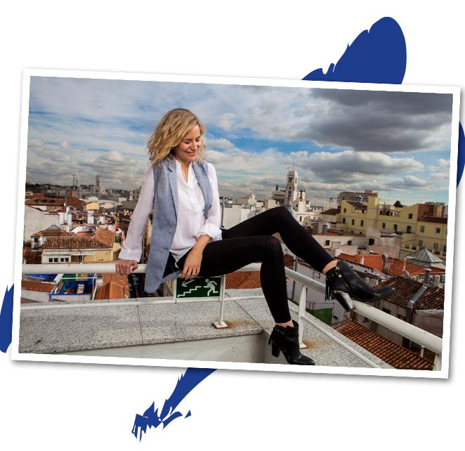 María León con los leggings Q10plus de Nivea