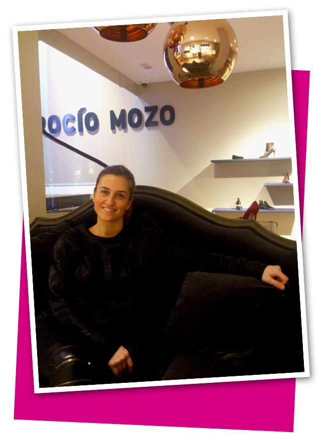 Rocio Mozo, fundadora de su propia firma de calzado