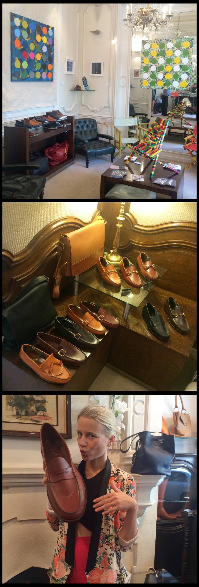 Guido donde se venden los clásicos y elegantes mocasines argentinos de fama mundial.