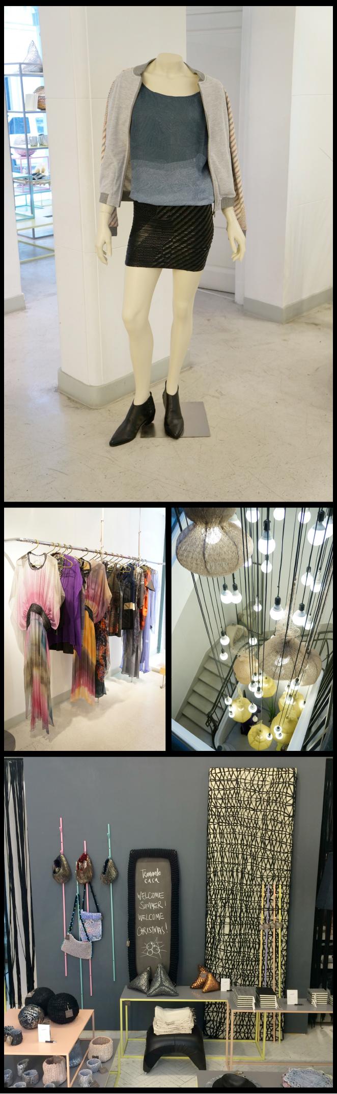 Más vanguardista es la tienda Tramando, creada por el diseñador Martin Churba