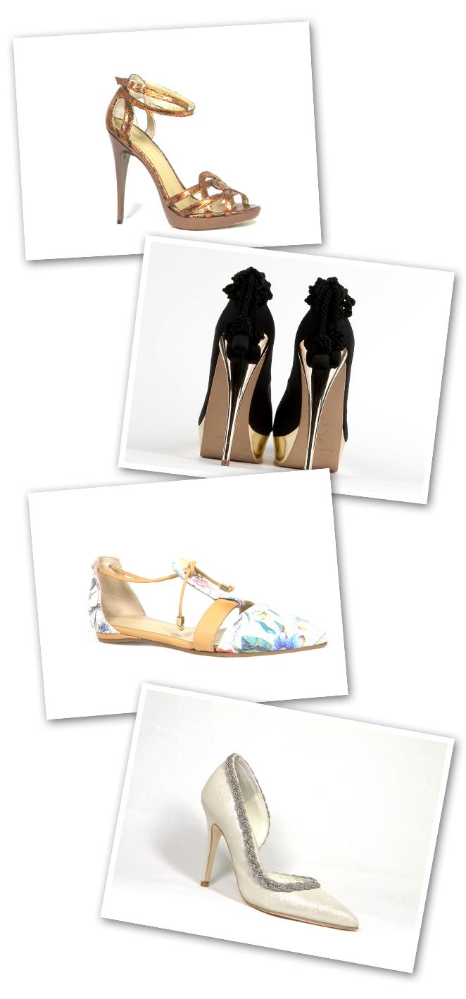 Modelos de zapatos con tacones para mujer