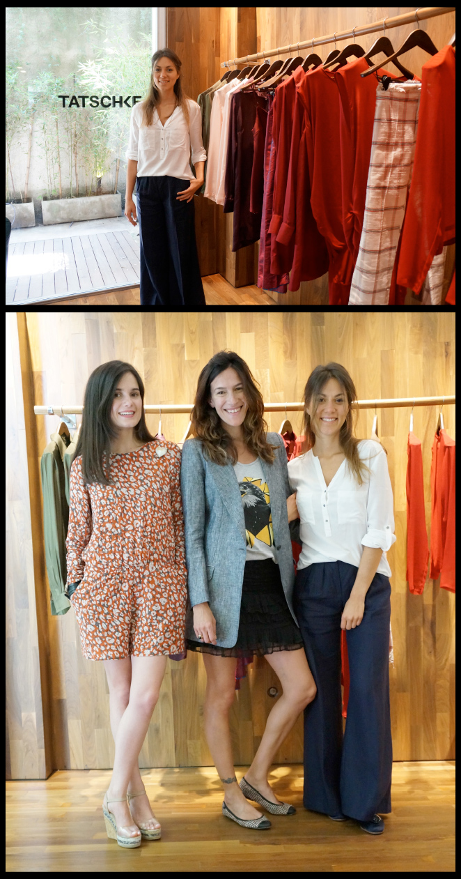 Otras dos tiendas de ropa de esta zona que me parecieron elegantísimas y que destacan por la sobriedad y la calidad de sus prendas son las de la diseñadora Sofía Tatschke.