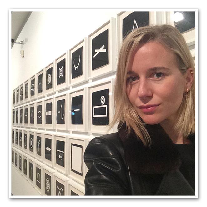 """María León en el museo """"Ferran Adrià. Auditando el proceso creativo"""""""