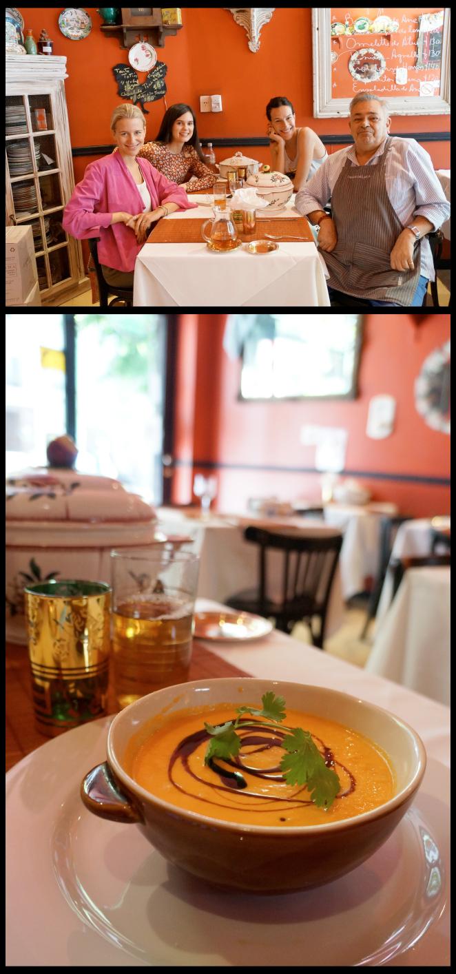 El restaurante La olla de Félix que está en el barrio de Recoleta