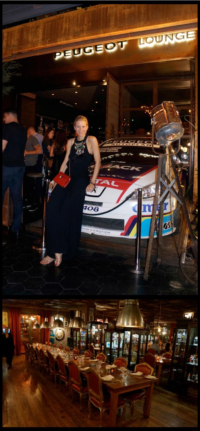 """""""Peugeot Lounge"""" en Palermo Soho"""