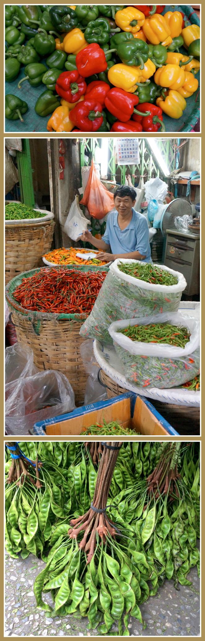 Mercado de Fruta y Verdura, Bangkok