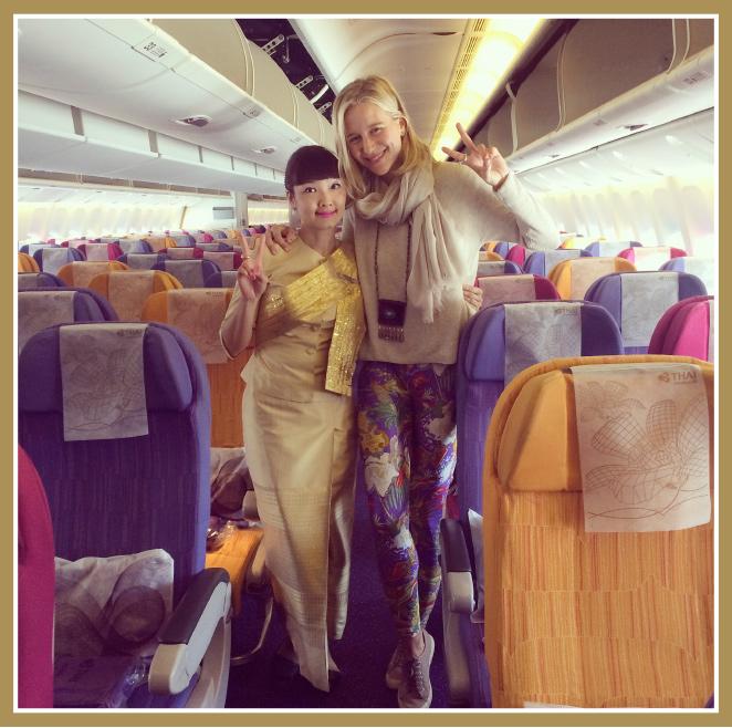 Aerolínea Thai Arways ofrece vuelos directo de Madrid a Bangkok que duran 12 horas