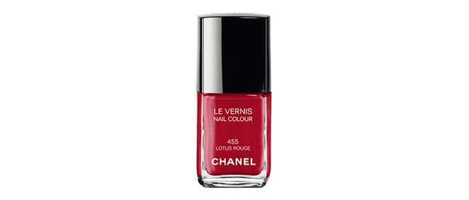 Le Vernis Lotus Rouge de Chanel