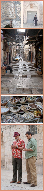 Vía Dolorosa, calle de la Ciudad Antigua de Jerusalén
