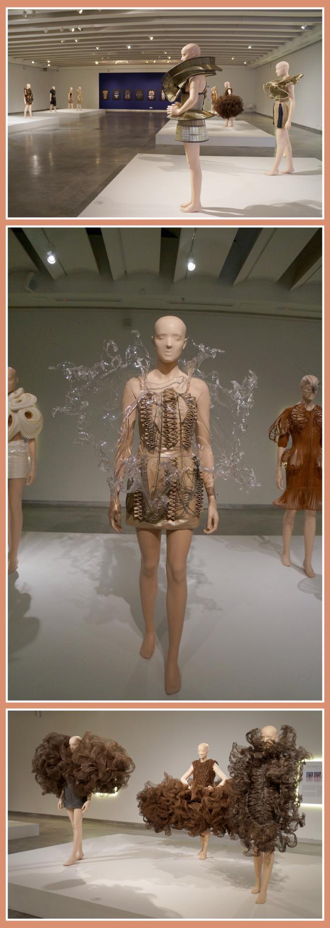 """La exposición """"New Couture by Iris Van Herpen"""", Museo de Diseño del arquitecto israelí Ron Arad"""