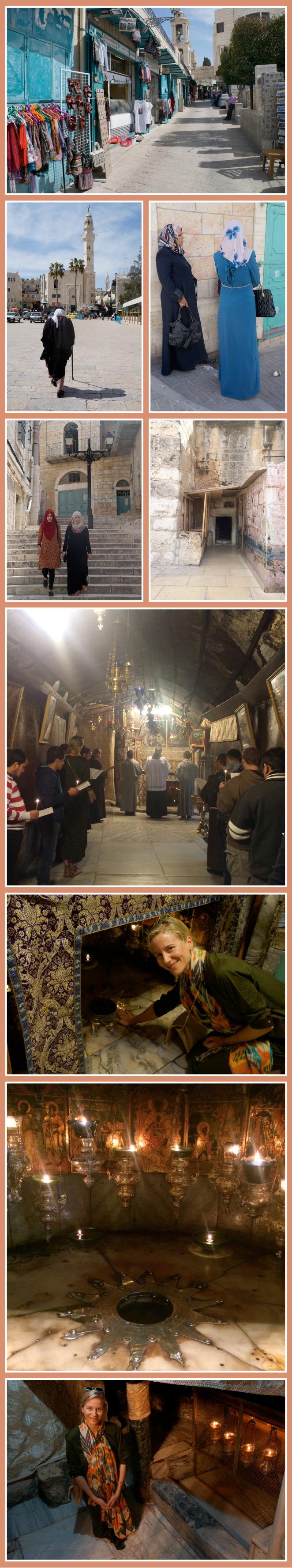 La Basílica de la Natividad y la gruta de la Natividad