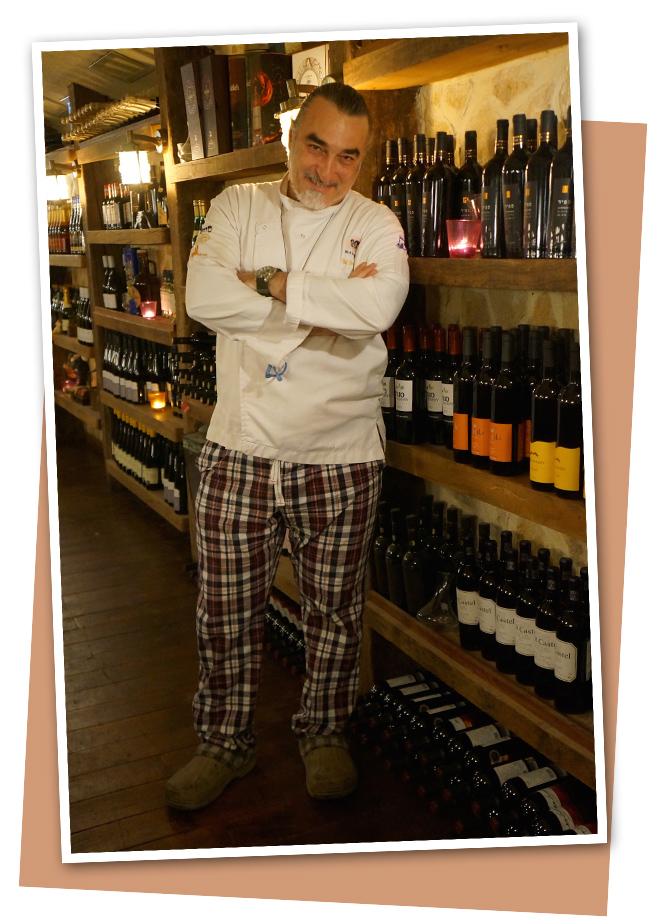 Chef israelí, Shaul Ben Aderet