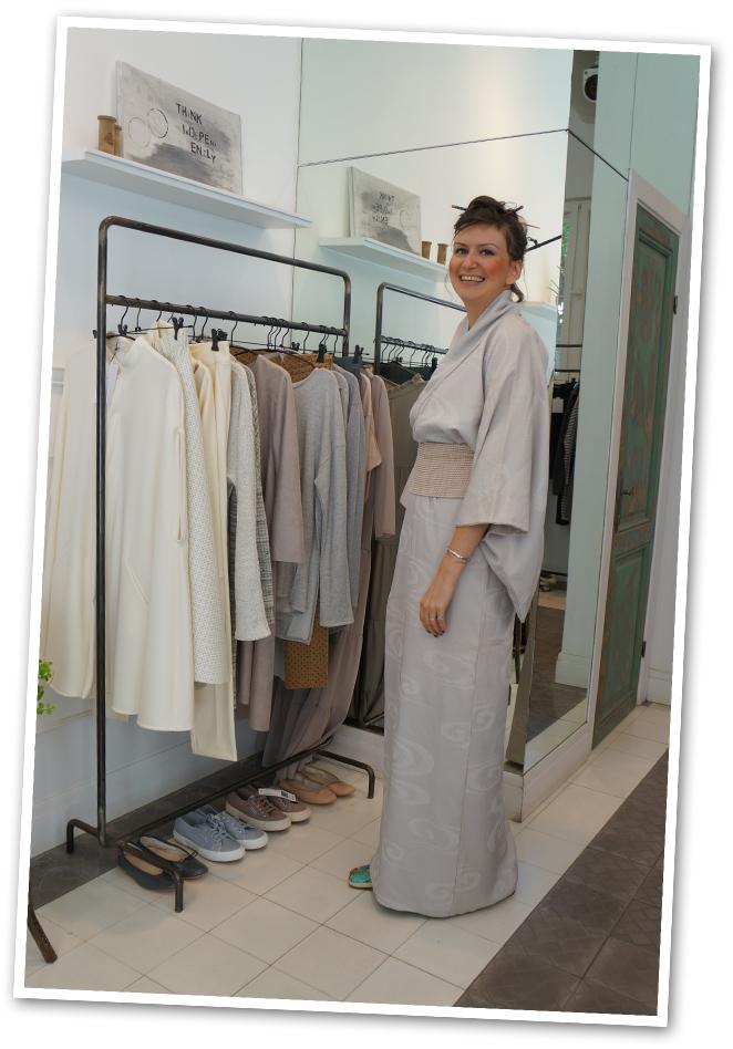 Aviva Zilberman, diseñadora de moda israelí