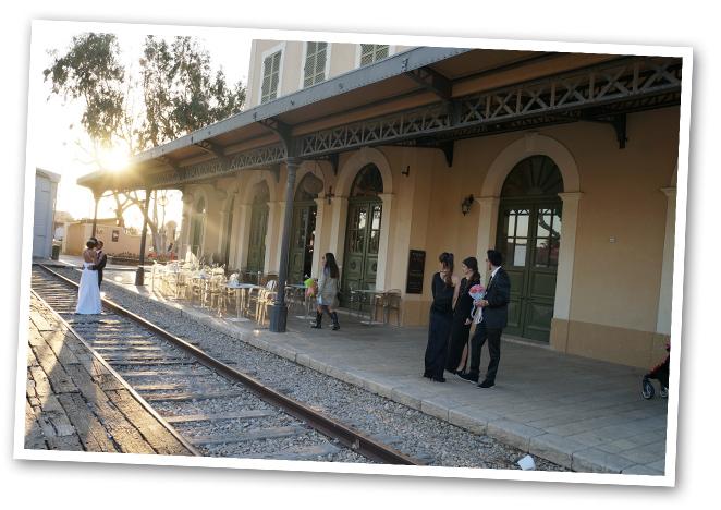 Estación de 1892 que construyeron los otomanos para ir de Jaffa a Jerusalen