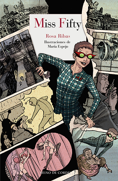 Miss Fifty, de Rosa Ribas (Ed. Reino de Cordelia)