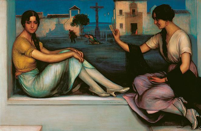 La Buenaventura, de Julio Romero de Torres