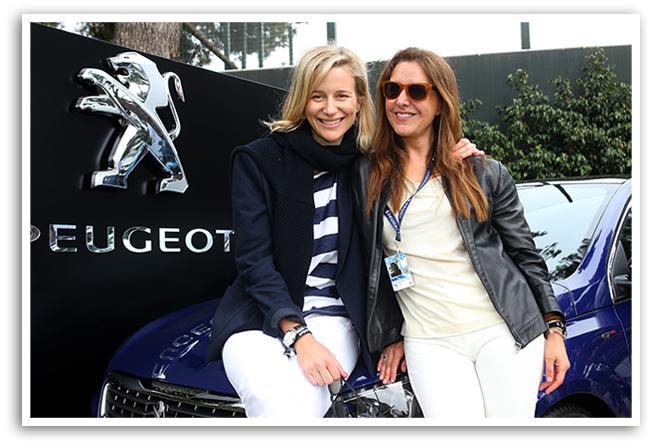 Un día de tenis en Barcelona con Peugeot