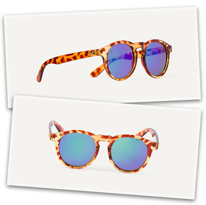 Gafas de sol Hathi Caroise Blue de Wolfnoir