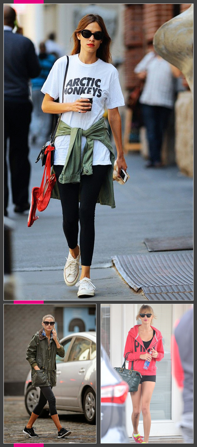 Otras de las asiduas al gym son las it girls como Olivia Palermo, Alexa Chung y Taylor Swift