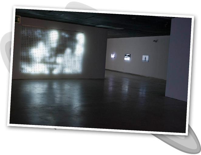 Exposición de Jim Campbell en el Espacio de la Fundación Telefónica