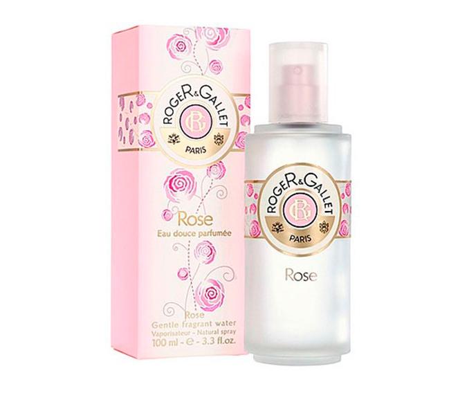 Agua dulce perfumada Rose de Roger & Gallet