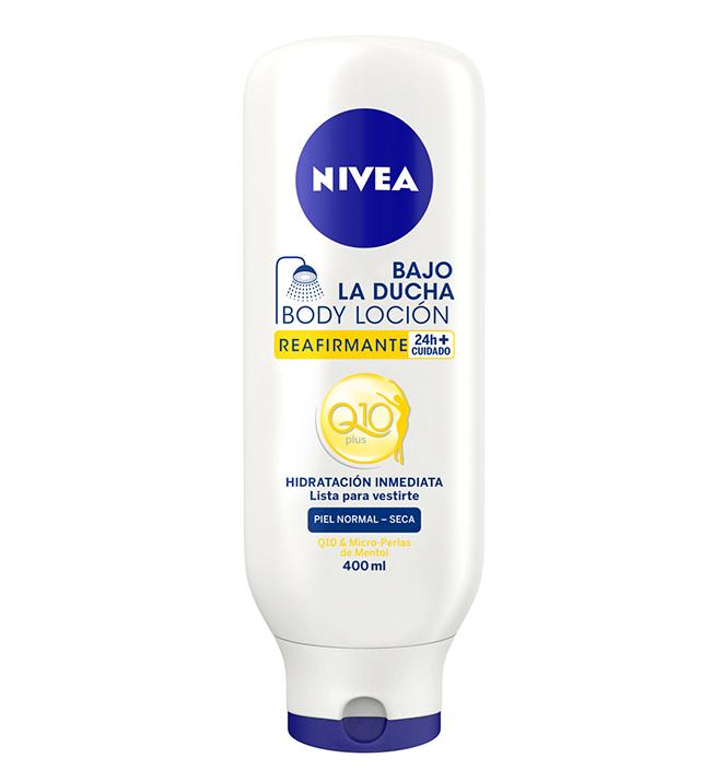 Body Loción Reafirmante bajo la ducha Q10 de Nivea