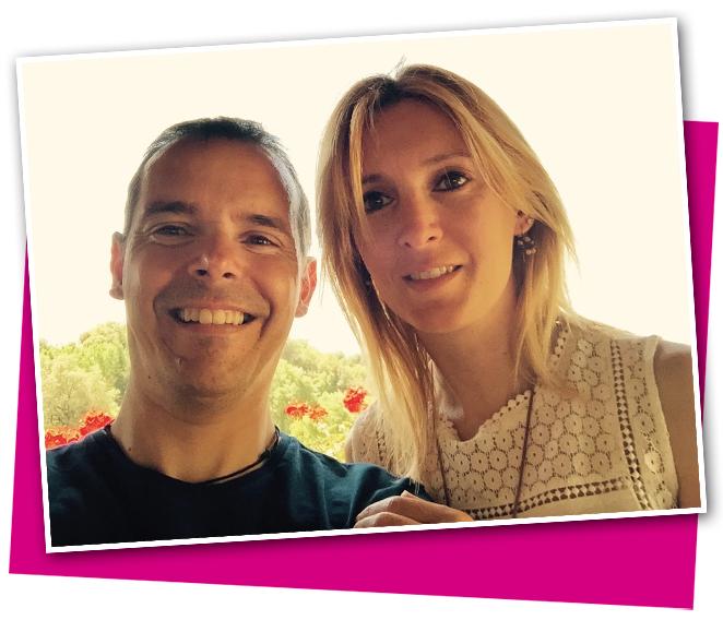 Pau Casals y su mujer, Imma Plans, alma máter de este proyecto.