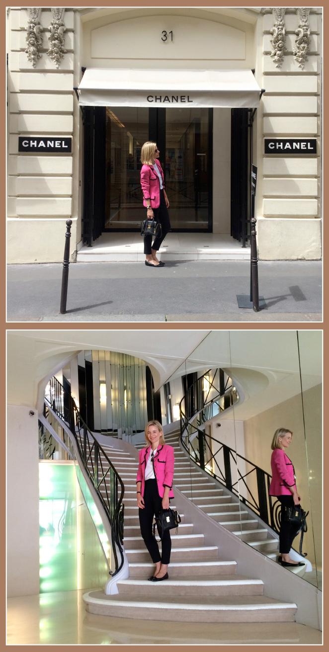 Chanel, situada en 31 Rue Cambon