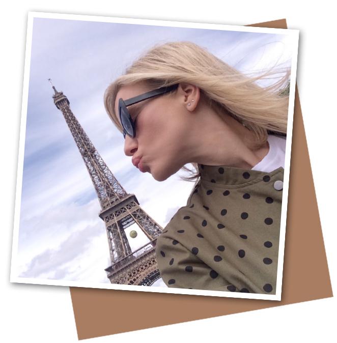 María León en París Rive Droite
