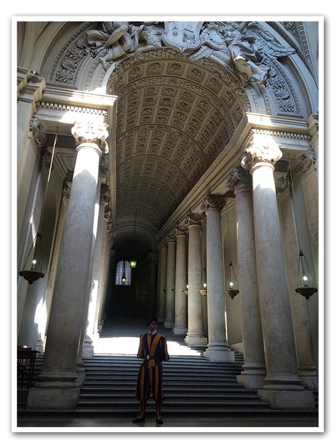 María León en el Vaticano, Roma