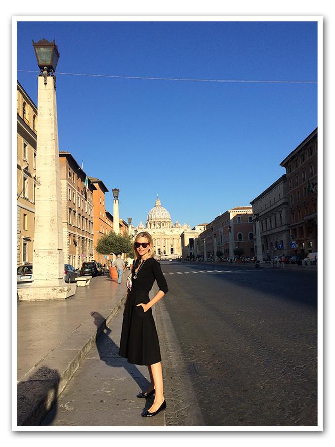María León en Roma
