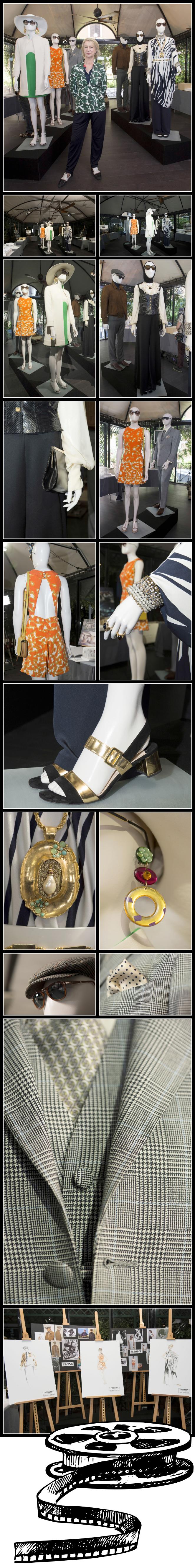 Teniendo como base la inspiración vintage, fenómeno del que soy fan absoluta!!Los accesorios también me enamoraron, en especial los pendientes que luce la guapísima Alicia Vikander!!