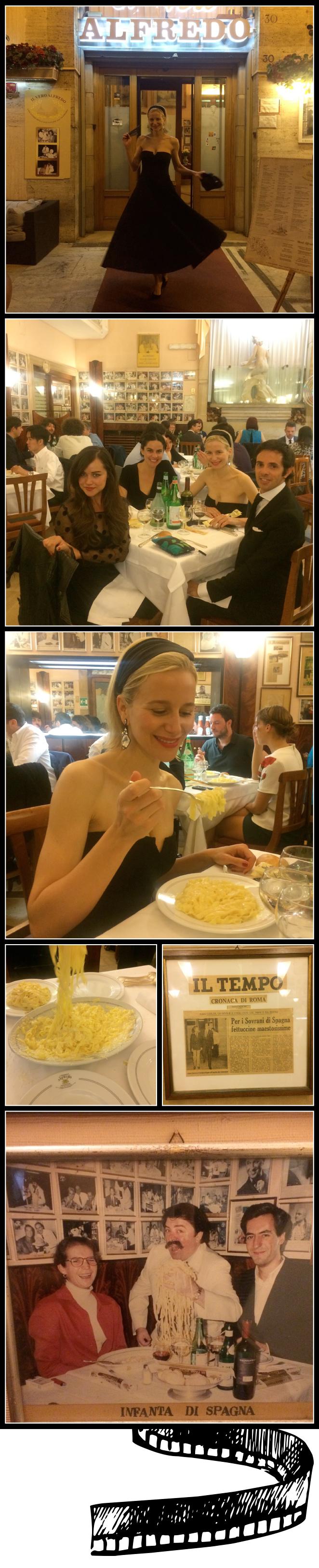 Restaurante Alfredo, Roma