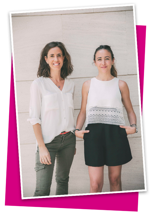 Maite y Mónica, fundadoras de Smart Luxury