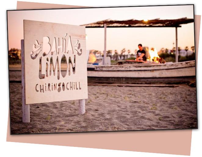 El chiringuito Bahía Limón es el lugar ideal para este plan!!